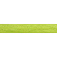 "5 Yards - Neon Yellow - 5/8"" Solid Fold Over Elastic"