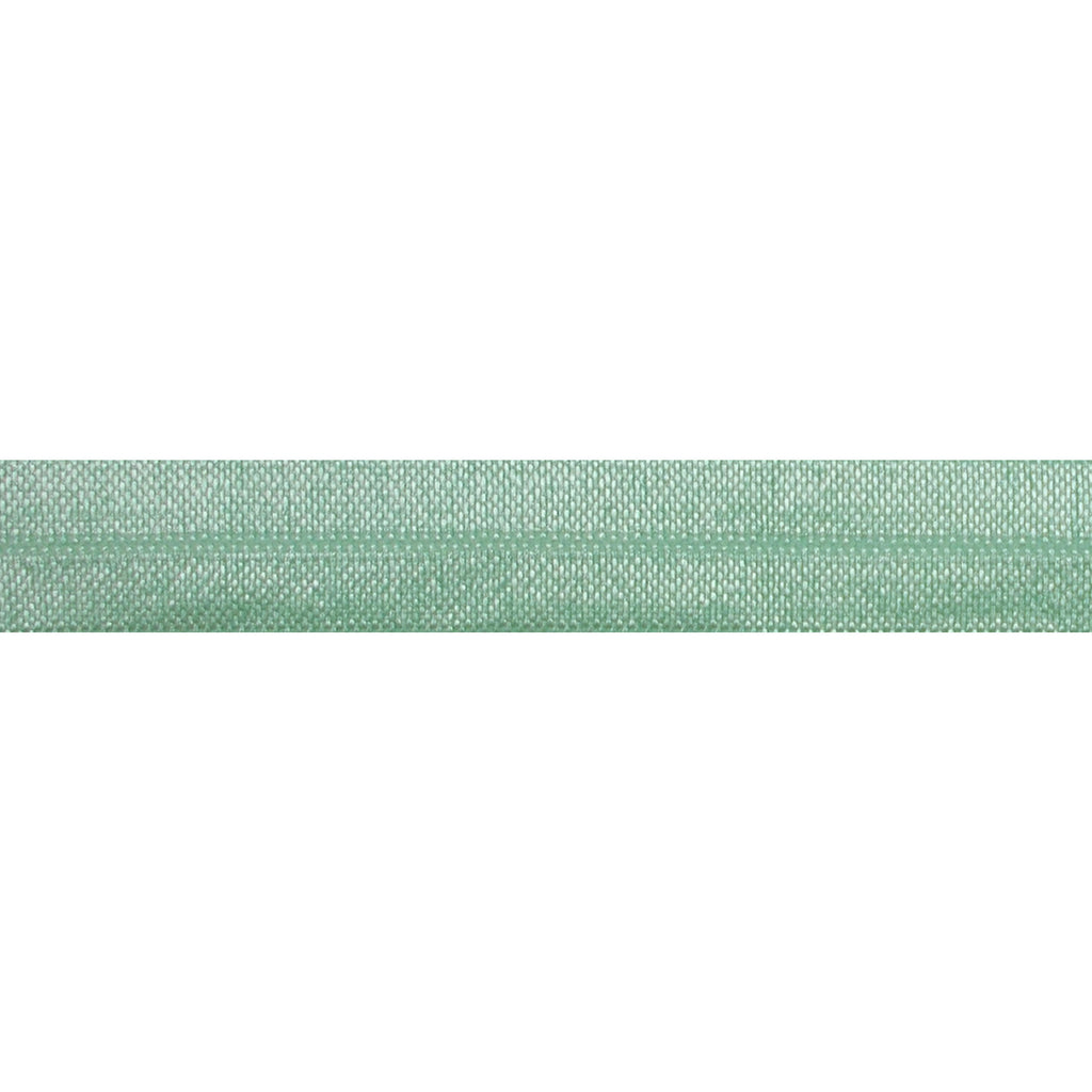 "Mint Green - 5/8"" Solid Fold Over Elastic"