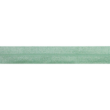 "5 Yards - Mint Green - 5/8"" Solid Fold Over Elastic"