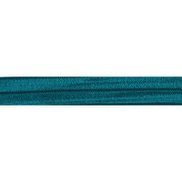 "Teal - 5/8"" Solid Fold Over Elastic"