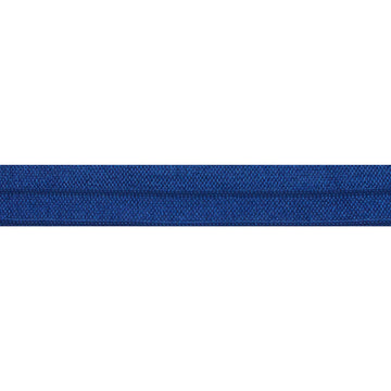 "5 Yards - Navy Blue - 5/8"" Solid Fold Over Elastic"