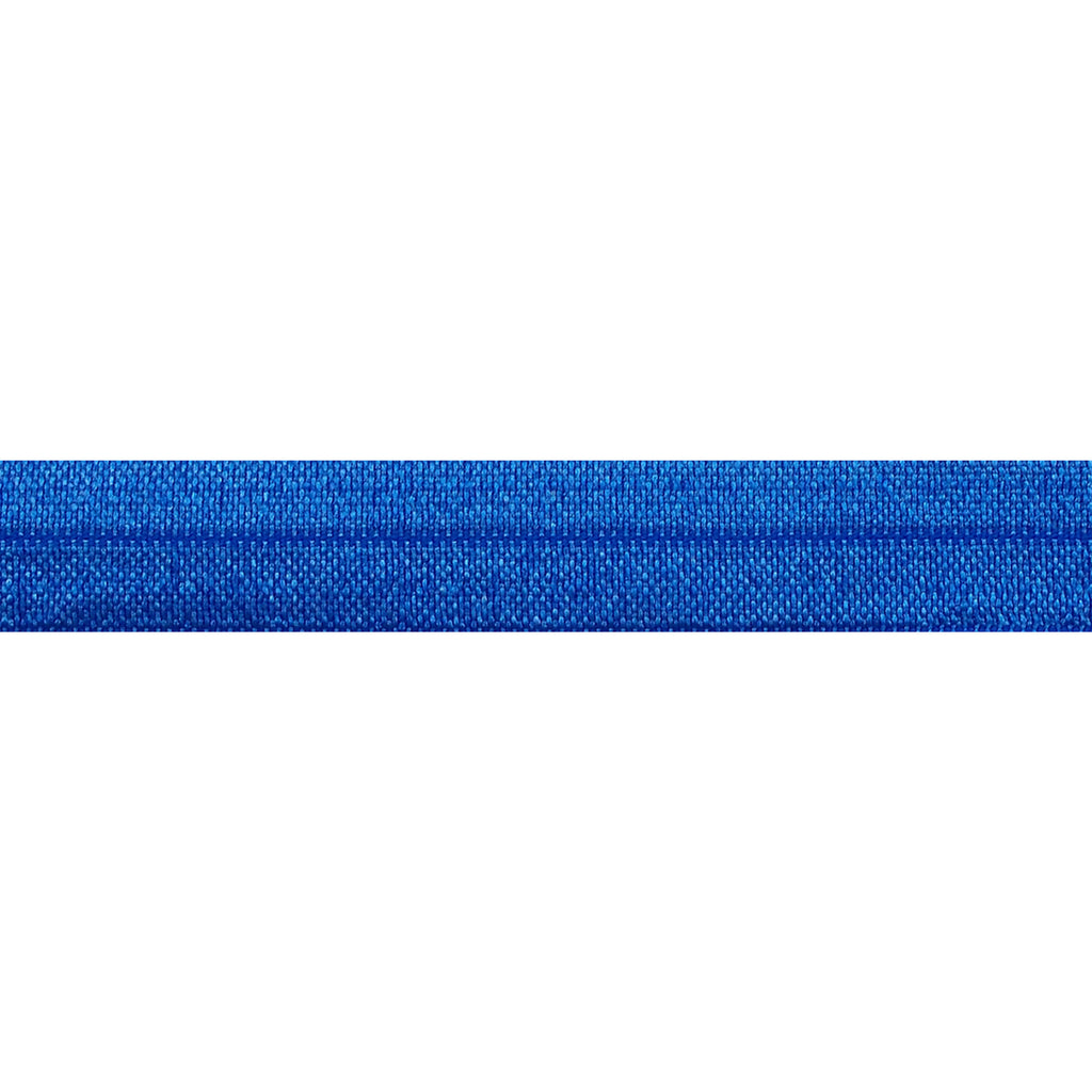 "Royal Blue - 5/8"" Solid Fold Over Elastic"
