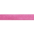 "5 Yards - Bubblegum Pink - 5/8"" Solid Fold Over Elastic"