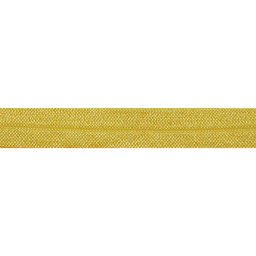 "5 Yards - Golden Yellow - 5/8"" Solid Fold Over Elastic"