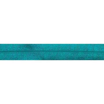 "5 Yards - Jade Blue - 5/8"" Solid Fold Over Elastic"
