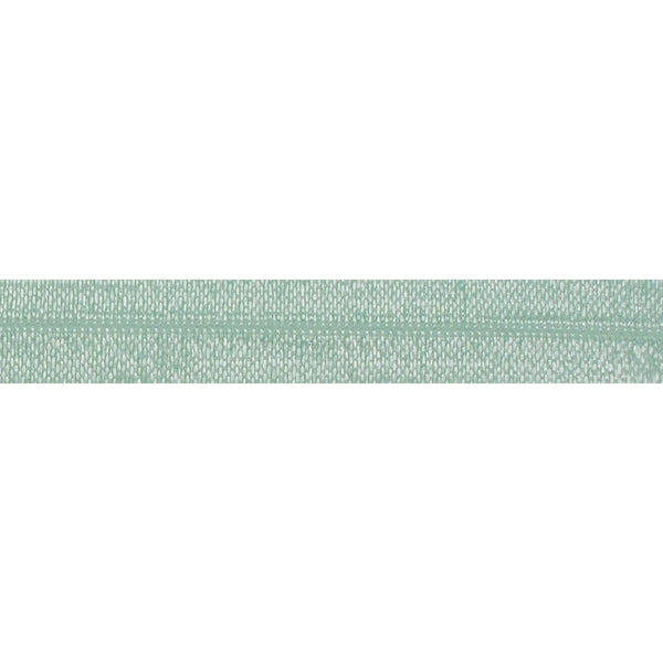 "Pale Mint - 5/8"" Solid Fold Over Elastic"