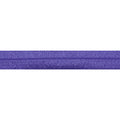 "5 Yards - Amethyst - 5/8"" Solid Fold Over Elastic"