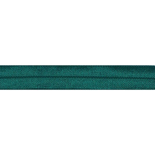 "Emerald Green - 5/8"" Solid Fold Over Elastic"