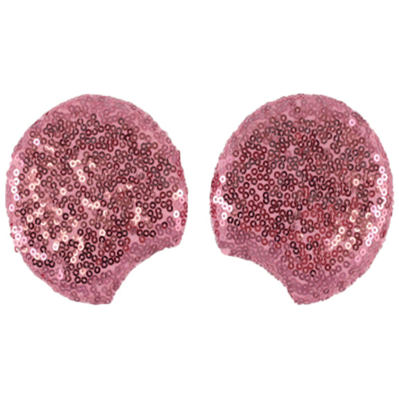 "Pink - 3.25"" Sequins Mouse Ears"