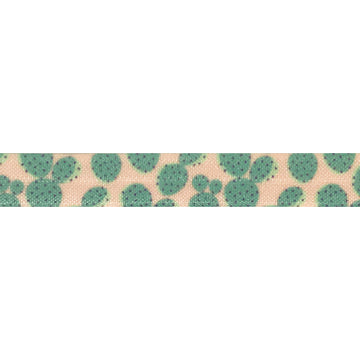 "Rodeo Queen -  5/8"" Printed Fold Over Elastic"