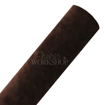 Brown - Double-Sided Velvet Fabric Sheet
