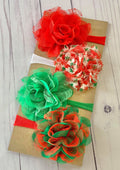 Jingle All the Way - DIY Nylon Headband Kit