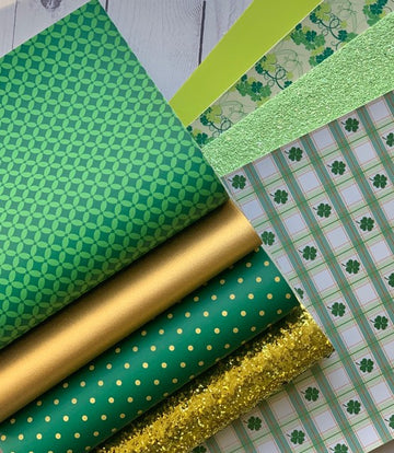Irish Kisses, Shamrock Wishes - 8 Sheet Bundle Pack