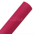 Dark Magenta - Solid Faux Leather Sheet