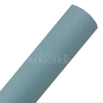 Light Blue - Textured Faux Leather Sheet