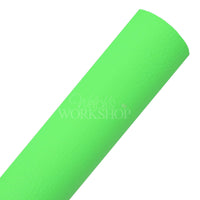 Neon Green - Textured Faux Leather Sheet