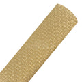 Gold - Woven Look Faux Leather Sheet