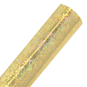 Gold 80's Backdrop - Printed Faux Leather Sheet