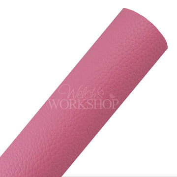Pink - Solid Faux Leather Sheet