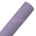 Lavender - Textured Faux Leather Sheet