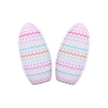 "Easter Chevron - 3"" Padded Bunny Ears"