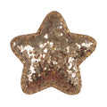 "Gold Chunky Glitter Star - 2"" Padded Applique"
