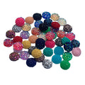 Grab Bag - 12mm Druzy Cabachon - 25 Pair