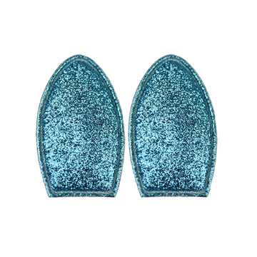 Light Blue Glitter - Padded Bunny/Deer Ears