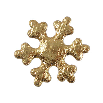 "Gold Snowflake - 1"" Padded Applique"