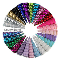 "Rainbow - 5"" Padded Unicorn Horn"