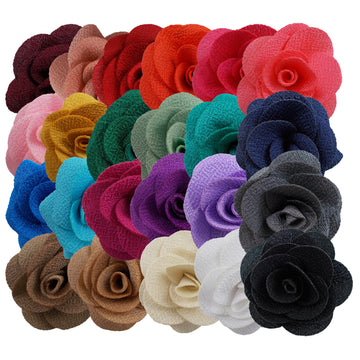 "Grab Bag - 2"" Cloth Flower - 10 Flowers"