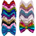 "Grab Bag - 5"" XL Shiny Metallic Bow - 10 Bows"