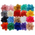 "Grab Bag - 2.5"" Satin Lotus Flower - 10 Flowers"