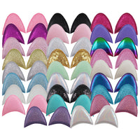 "Light Pink Shimmer - 2.5"" Unicorn Ears"