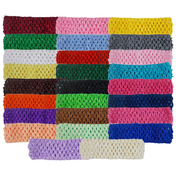 "Grab Bag - 1.5"" Crochet Headband - 10 Headbands"
