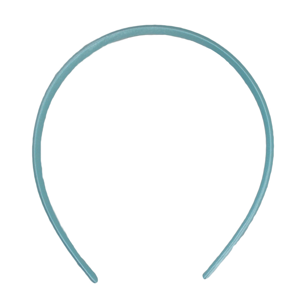 Pale Aqua - 7mm Satin Lined Headband