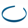 Blue - 15mm Satin Lined Headband