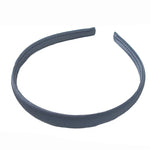 Gray - 15mm Satin Lined Headband