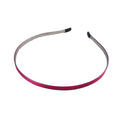 Fuschia - 5mm Ribbon Lined Metal Headband