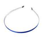 Royal Blue - 5mm Ribbon Lined Metal Headband
