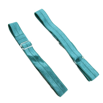 Jade Blue - Adjustable & Interchangeable Solid FOE Headband