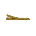 "2.25"" Gold Alligator Clip with Teeth"