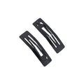 "1.96"" Black Rectangle Snap Clip"