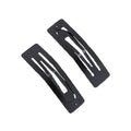 "70mm / 2.75"" Black Rectangle Snap Clip"