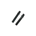 "35mm / 1.25"" Black Alligator Clip with Teeth"