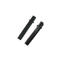"1.6"" Black Alligator Clip with Teeth"