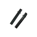 "1.81"" Black Alligator Clip with Teeth"