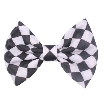 "Checkered Flag - 5"" Bow"