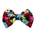 Bright Daisies - XL Jersey Knit Bow