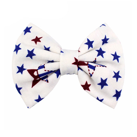 Patriotic - XL Jersey Knit Bow